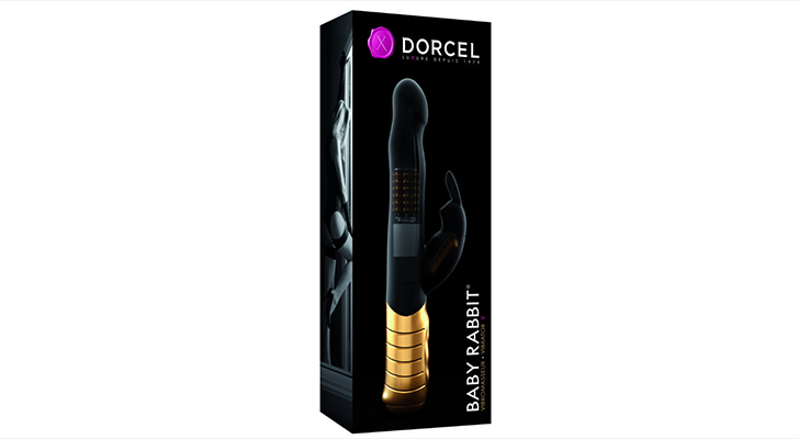 Marc Dorcel luksusvibraator Baby Rabbit Gold