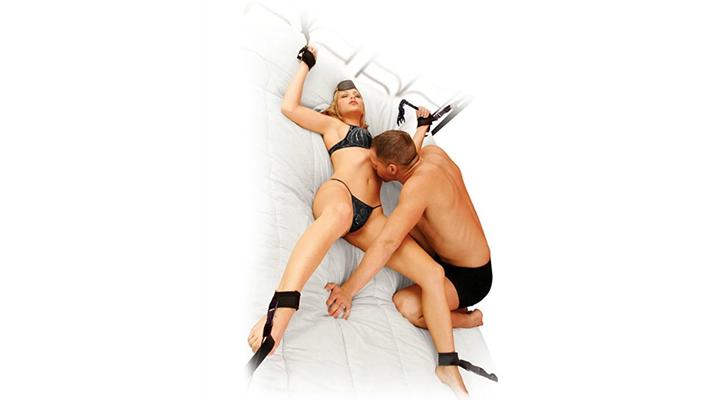Magamistoa sidumiskomplekt Fetish Fantasy Bedroom Bondage